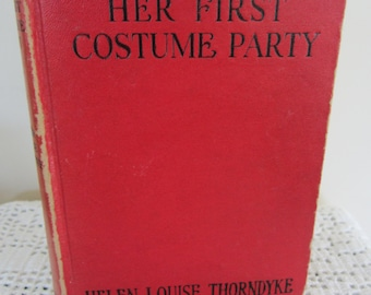 Antique Honey Bunch Book Her First Costume Party 1943