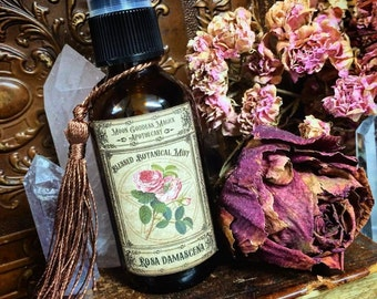 ROSE Spray~ Blessed Botanical Mists ~ Aura Spray ~ Room Spray ~ Nurturing and Soothing ~ Floral Witchcraft ~ Botanical Magick