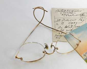 Vintage Spectacles Glasses Art Craft USA