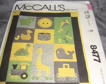 McCall's Fun Time Crib Quilt Pattern