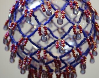 47. Beaded Ornament Cover