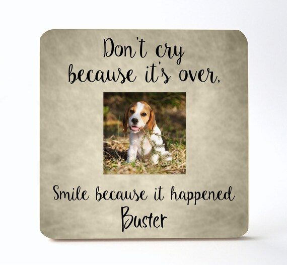 Pet Memorial Personalized Picture Frame