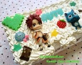 FairyTail 3DS XL Kawaii Decoden Case