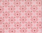 Blush - basic grey - Moda - pink diamond dots