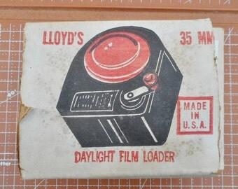 Lloyd Daylight Film Loader 35mm  Vintage 1950s