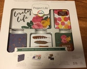 Becky Higgins Project Life 1/4  Partial Core Kit - MODERN edition - 154 cards - New release