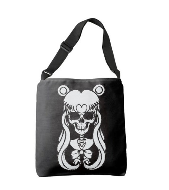 Sailor Moon Skull Cross Body Bag