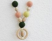 Autumn Harvest Nursing Necklace / Teething Necklace
