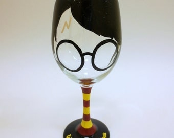 Harry Potter Wine Glass