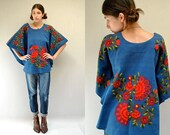 70s Ethnic Embroidered Top   //  Mexican Top  //  THE CHICHI