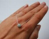 Circle Pendant,Circle Necklace,Silver Necklace,Sterling Silver,Necklace,Everyday Necklace