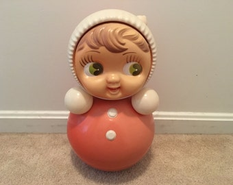 Vintage Soviet Roly Poly toy