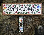 Welcome sign and door bell cover for Sue