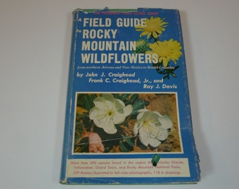 Vintage A Field Guide To Rocky Mountain Wildflowers 1963