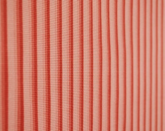 Pink Striped Drapery Fabric