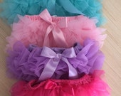 Pink Baby Girl Bloomers, Ruffle Bum, Ruffle Diaper Covers, Purple Pink Teal Hot Pink Ruffles