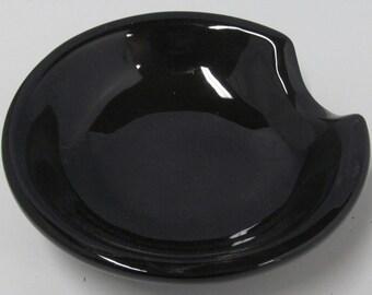 Ceramic Spoon Rest ~ round ~
