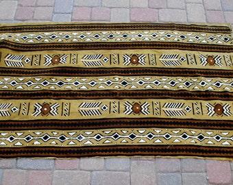 """African Mud Cloth 40""""x65"""""""