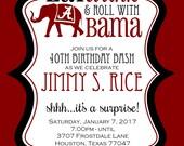 Jimmy Rice - Birthday Invitation