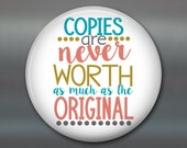 """3.5"""" quotes for the fridge- kitchen decor sayings- inspirational art quotes- friend gifts - daily positive quotes  MA-WORD-13"""