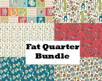 SALE *** 30% off **** Picnic Whimsy Fat Quarter Bundle- by Rebekah Ginda for Birch Fabrics