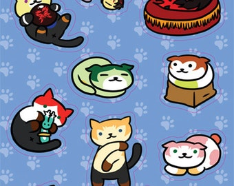 Tales Atsume Sticker Sheet