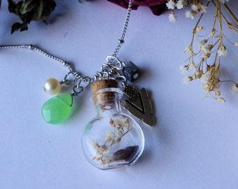 Seaside Charm Bottle Necklace