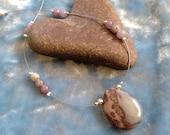 Picture Jasper Illusion Necklace
