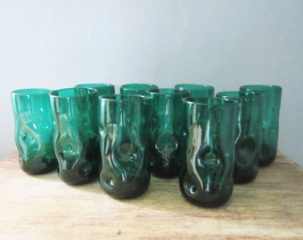 Blenko Large Dimple Glassware