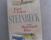 JOHN STEINBECK East of Eden and The Wayward Bus, Viking Press 1952