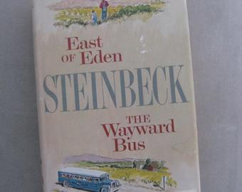 JOHN STEINBECK East of Eden and The Wayward Bus, Viking Press 1952