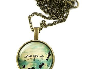 Peter Pan Never Neverland Pendant
