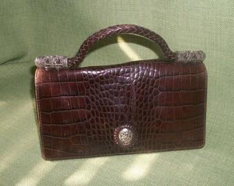 Vintage BRIGHTON HANDBAG Purse Leather
