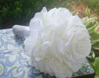 Huge single rose glamelia bouquet