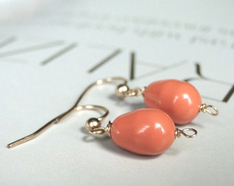 HOLIDAY SALE Dangle Earrings, Swarovski Pearl Earrings, Jewelry, Accessories, 14k Gold Filled Ear Wires, Spring Earrings, Boho Chic