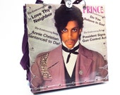 Prince Controversy Vintage LP Handbag Tote Custom Made Record Album Purse