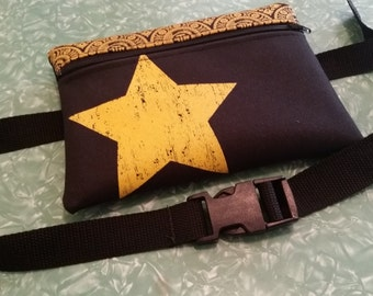 FTR Stars Hip Bag (aka. Fanny pack) with removable belt. Multiple Colors available!