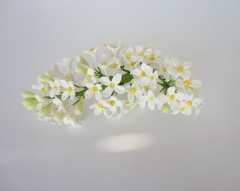 sugar lilac white set of 2 bunches