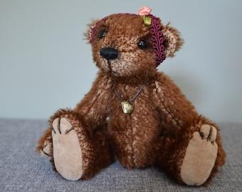 Becky, little artist bear