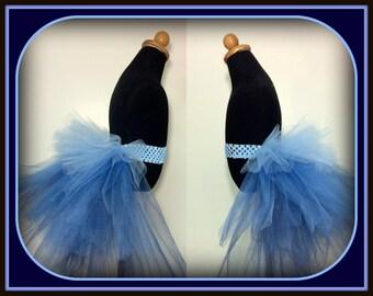 Ombré Bustle - Denim Blues - Fits Sizes 6 months-5T