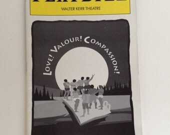 Playbill 1995 Walter Kerr Theatre Love! Valour! Compassion! Vintage Theater Program NYC