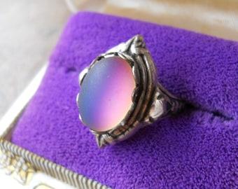 Gothic Mood Ring, Mood Ring, gothic, mood, heraldic ring, heraldic, cosplay
