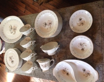 Vintage Sango China Japan Magnolia Lot
