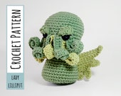 PATTERN - Cthulhu Crocheted Amigurumi