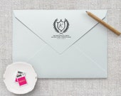 Self Inking Return Address Stamp / Wedding Invitation Stamp, Save the Date Stamp, Thank You Card Stamps, Personalized Address Stamp