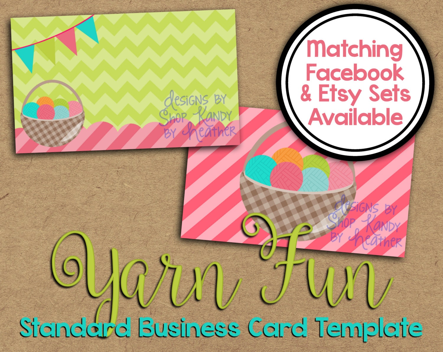 Yarn business card crochet business card business card zoom magicingreecefo Image collections