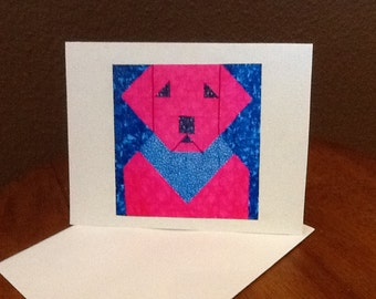 POP ART LAB    4 note cards with envelopes