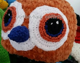 Pepe the bird inspired by world of warcraft handmade hat