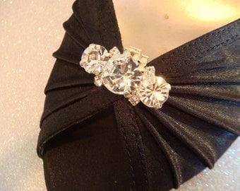 Rhinestone shoe clips / wedding shoe clips style deco shoe clips / wedding shoe clips bridal shoe clips