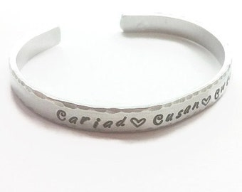 Welsh gifts, Gifts from Wales, Welsh language gift, Welsh love gift, Cariad gift, Cwtch gifts, Welsh jewellery, Gift for wife, Gift for her